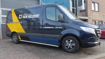 Mercedes Sprinter voor Van Heerdt Electro