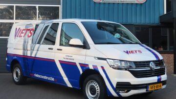 Volkswagen Transporter voor Viets Staalconstructie