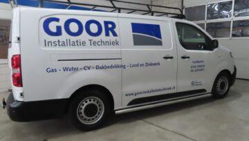 Opel Vivaro voor Goor Installatietechniek
