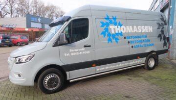 Mercedes Sprinter voor Boor- en Zaagbedrijf Thomassen